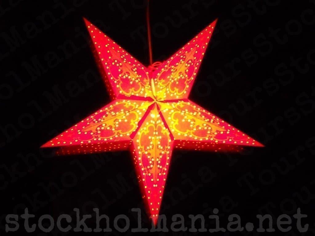 la stella dell'avvento
