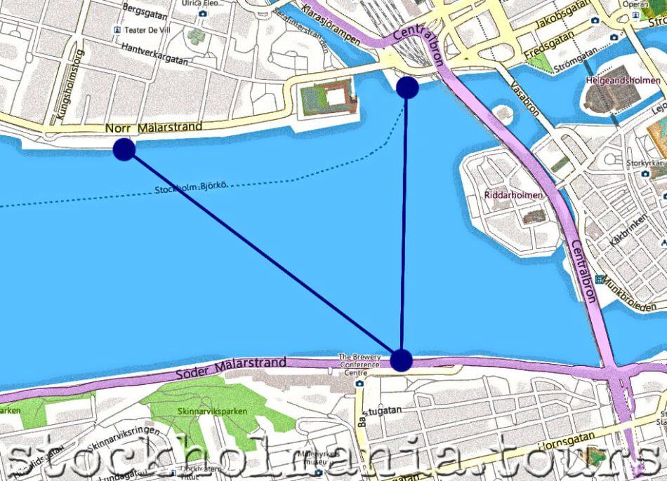 Linea 85 - Battello a Stoccolma
