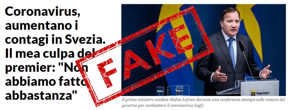 Coronavirus in Svezia: le menzogne della stampa italiana 4