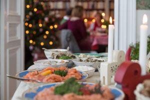 Il buffè di Natale in Svezia