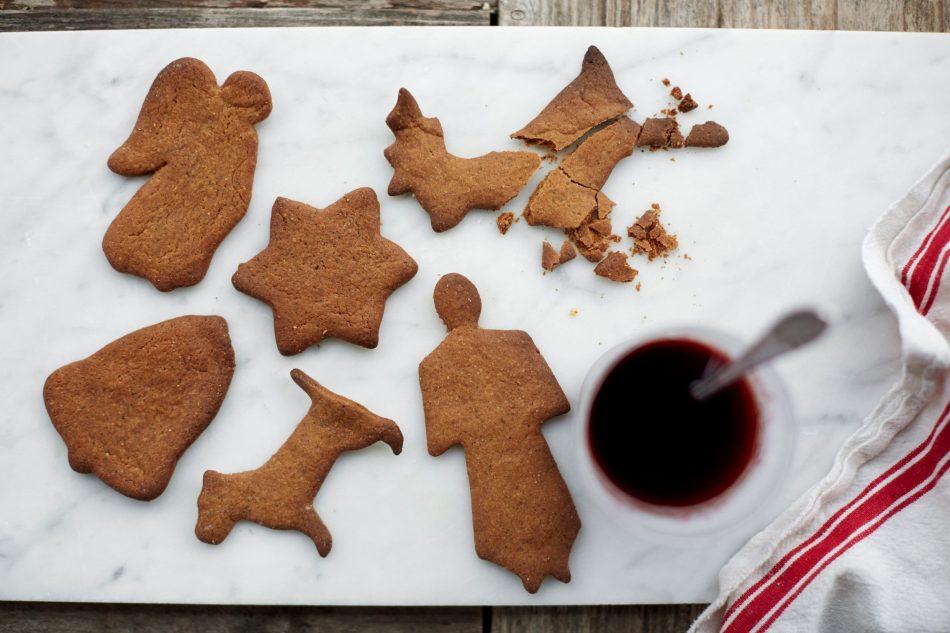 Biscotti natalizi allo zenzero